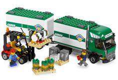 7733 Le camion et son chariot élévateur - Wiki LEGO