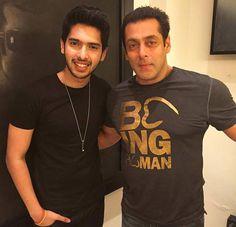 Salman Khan with Armaan Malik Photo 3
