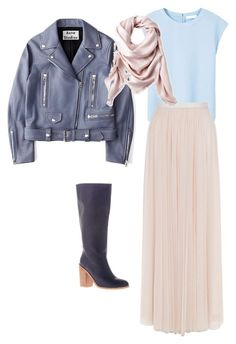 """""""1"""" by yoojung-park on Polyvore featuring мода, MANGO, Monsoon, Acne Studios и Liberty"""