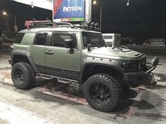 The best Toyota FJ Cruiser I have ever seen.