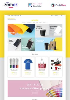 We observe print business is growing in popularity nowadays. This Print Shop eCommerce Template is designed especially for printing companies specialized in Web Design Software, Ecommerce Template, Branding Materials, Business Presentation, Presentation Design, Catalog Design, Web Inspiration, Creative Posters, Printing Companies
