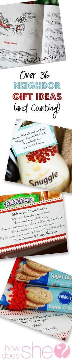 36 Neighbor Gift Ideas