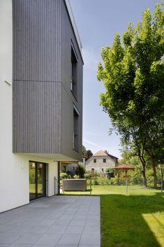 architektur, wohnen, Wohnbau, stadtrand, garten, holz,  syntax architektur • klosterneuburg