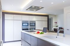 A clever use of a small space has created a stunning kitchen