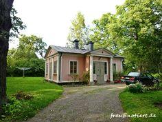 Nice house on the island Djurgården.