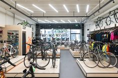 London Fields Cycle store by made with volume, London – UK » Retail Design Blog