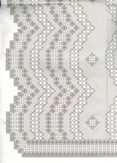 scalloped edge hardanger - Google Search