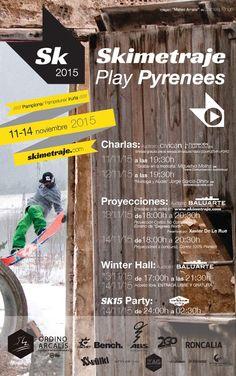 Si te gusta la montaña y el ski, no dejes de acudir a este gran evento. - IV edición de Skimetraje en Pamplona #Navarra