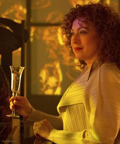 River Song in The Name of the Doctor.... What I really want is to see her in a wedding dress having a second marriage to the Doctor, because the first was in an alternate in an aborted timeline so it never happened......