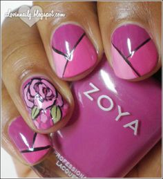 http://lovinnailz.blogspot.co.uk/2012/04/color-blocking-rose-mani-w-zoya-lara.html