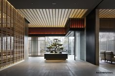 Ritz Carlton Kyoto- I have been there and it was beautiful ! Japanese Modern, Japanese House, Japanese Design, Japanese Architecture, Interior Architecture, Interior Design, Japan Interior, Public Hotel, Style Japonais
