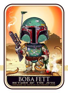 Star Wars - Boba Fett in Artwork - The Ultimate Badass! | Web ...