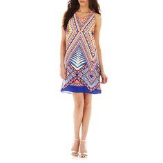 Bisou Bisou Sleeveless Cross-Back Dress (jcp.com 219-2300)