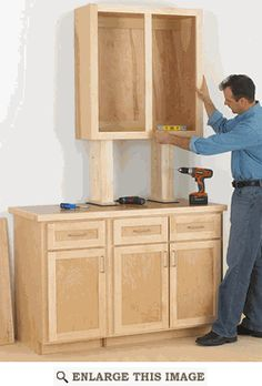 Woodworking Projects Desk Make Cabinets the Easy Way Woodworking Plan. Projects Desk Make Cabinets the Easy Way Woodworking Plan. Carpentry Projects, Small Woodworking Projects, Popular Woodworking, Wood Projects, Woodworking Patterns, Trim Carpentry, Japanese Woodworking, Welding Projects, Woodworking Furniture Plans