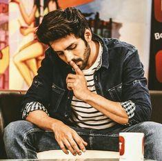 Kartik is thinking Indian Celebrities, Bollywood Celebrities, Danish Men, Alia Bhatt Cute, Entertainer Of The Year, Indian Star, Ensemble Cast, Bollywood Stars, Indian Bollywood