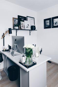 Arbeitsplatz Zuhause einrichten und gestalten, 5 Ideen für mehr Stil im Blogger Home Office, Ideen für den Arbeitsbereich, Work-Space und Schreibtisch schön gestalten, Home Office Ideen, Interior Blog und Magazin, www.whoismocca.com