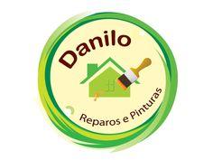 Logo Danilo Reparos e Pinturas, que agora mudou de nome para Danilo Pinturas e Reformas.