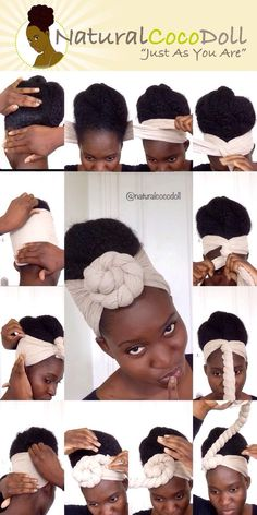 Natural Hair Styles head wrap styles for natural hair - Natural Hair Styles head wrap styles for natural hair - Headwraps For Natural Hair, Natural Hair Haircuts, Natural Hair Blowout, Blowout Hair, Hair Wrap Scarf, Hair Scarf Styles, Curly Hair Styles, Natural Hair Styles, African Hair Wrap