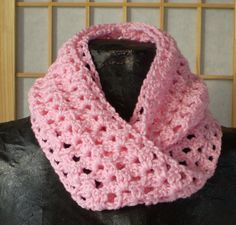 Infinity Mobius Scarf Crocheted Neck warmer  by Wearehomecrafting, $23.00