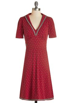 1930s Style Dresses and Clothing - Networking Vacation Dress $109.99 #1930sfashion #dresses