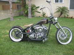 2008 Custom Harley Bobber Super Clean !