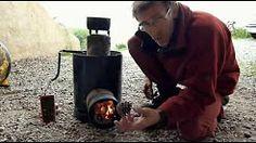 rocket stove francais - YouTube