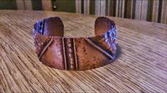 Handmade copper bracelet by Lajoure.com 2014