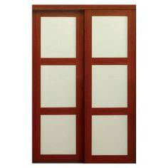 Feather River Doors 30 in x 80 in Pantry Woodgrain 1 Lite