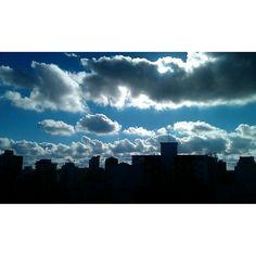 Nuvens, em constantes mudanças. #cidadesp #patriciachen