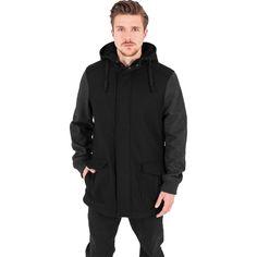 Contrast Hooded Wool Jacket #fashion #kleidung #urban #style #jacket #jacken #wolle #hooded http://www.rudestylz.de/contrast-wool-jacket.htm