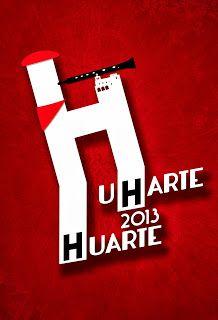 Cartel Finalista en Fiestas de Huarte, Navarra.