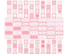 PRINTABLE Date Cover Stickers Planner Stickers Erin Condren Kitty Date Coverups stickers Cover Ups Planner Stickers Planner Stickers Digital by EnjoyPlanning on Etsy