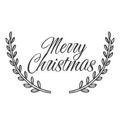 The Penny Paper Co. - Christmas Laurel Wreath Stamp