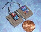Nintendo Controller Earrings. $35.00, via Etsy.