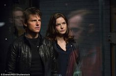 Paramount has released new Mission: Impossible 5 images; Mission: Impossible - Rogue Nation stars Tom Cruise, Simon Pegg, and Rebecca Ferguson. Ethan Hunt, Rebecca Ferguson, Tom Cruise, Best Spy Movies, Movies To Watch, Movies Point, Hd Movies, Michelle Monaghan, Shia Labeouf
