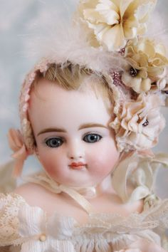 """German fashion doll by Kestner **""""Can you tell I wash my face every day with Ivory Soap?""""**"""