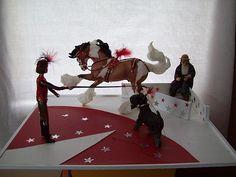 Model horse CIRCUS set - model horse