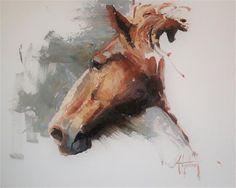 "Daily+Paintworks+-+""Sketch+#38""+-+Original+Fine+Art+for+Sale+-+©+Abigail+Gutting"
