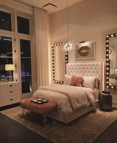 dream rooms for women ~ dream rooms ; dream rooms for adults ; dream rooms for women ; dream rooms for couples ; dream rooms for adults bedrooms ; dream rooms for adults small spaces Cute Bedroom Ideas, Room Ideas Bedroom, Small Room Bedroom, Awesome Bedrooms, Bed Room, Bedroom Inspo, Bedroom Art, Bedroom Furniture, Rich Girl Bedroom
