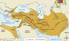 Persian Empire Map - Google Search