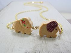 Items similar to Elephant Necklace Cute Vintage Wooden Elephants Jewelry on Etsy Wooden Elephant, Elephant Necklace, Elephants, Drop Earrings, Cute, Vintage, Jewelry, Jewellery Making, Jewerly