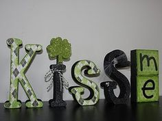 wood craft for St. Patrick's Day! Gotta do this for my irish half! Absolutely love it