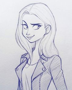 Картинки по запросу girl cartoon drawing