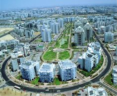 Rishon Lezion. One of Israel's fastest growing cities