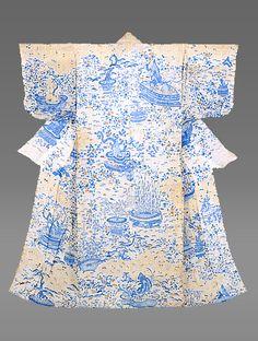 Japanese kimono, Edo period