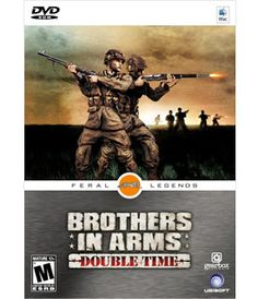Brothers in Arms: Double Time. Gritty, authentic and innovative, Brothers In Arms: Double Time offers a visceral, emotionally-charged experience in infantry combat.