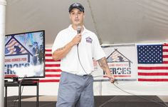 Building Homes for Heroes Ceremony
