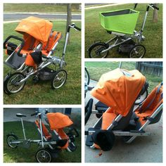It's a bike, It's a stroller, it's a Taga!! $1500...yeah, not a likely purchase, but way cool.