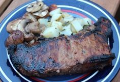 Balsamic-Beer Flank Steak