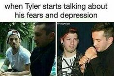 Tell me that Josh dosnt care. Because Tyler is his BestFriend and you can see it clearly in these pictures